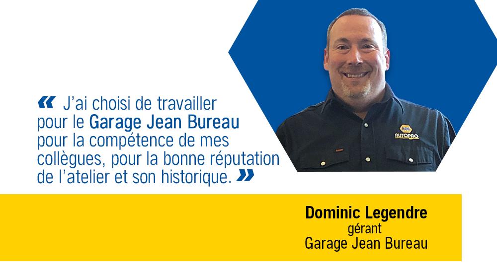 C'EST VRAI qu'on apprécie nos employés… Dominic Legendre, gérant