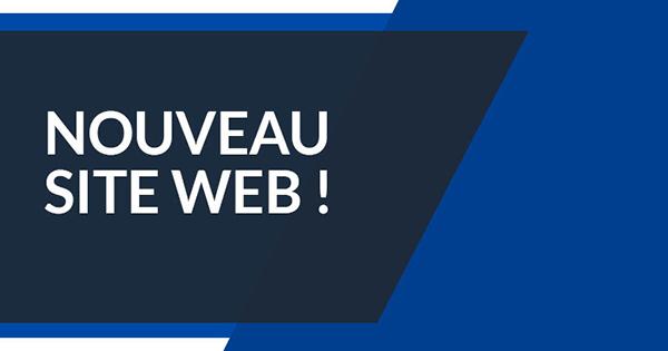 Nouveau site Web